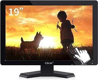 19インチ タッチスクリーン Cocar ディスプレイ ワイドスクリーン 液晶モニター Windows POS適用 TFT LED LCD VGA/USB
