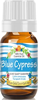 Pure Gold Blue Cypress Essential Oil, 100% Natural & Undiluted, 10ml