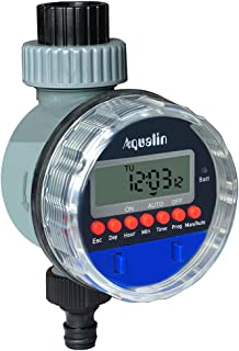 Aqualin bewateringscomputer voor automatische irrigatie Ein Auslass LCD Bewässerungscomputer