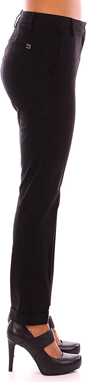 Manila Grace Rita Pantalon Femme Noir