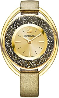 Swarovski Crystalline Oval Ladies Watch - Golden - 5296314