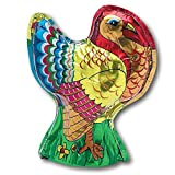 Madelaine Highly Detailed 3-dimensional Solid Premium Milk Chocolate Turkey - 4 1/4 Inch Tall - 6 Ounce