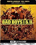 Bad Boys 1 & 2(4K Ultra HD+Blu-ray+Digital,2018)Steelbook-NEW-Free Shipping