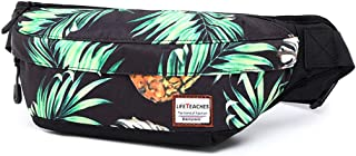 AQIWO Mens Fanny Pack Pineapple Waist Pack Bag Hip Pack Running Pack for Men Women