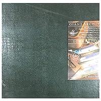 Canson Giant Archival Scrapbook ダークグリーン ポストバインダー