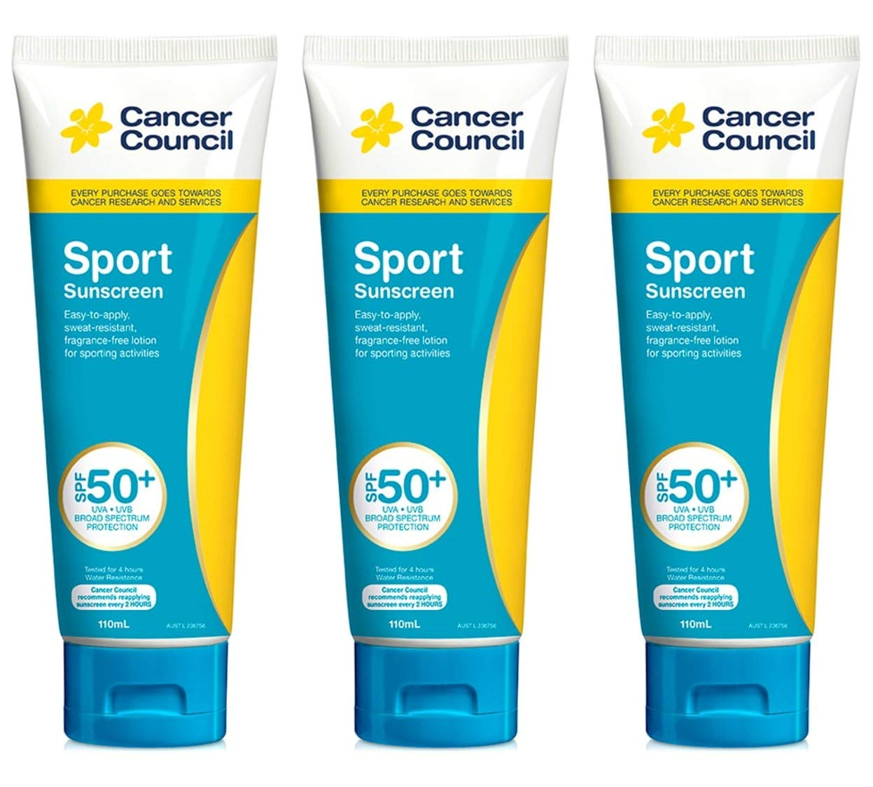 CANCER COUNCIL Sport Max Daily bargain sale 49% OFF Sunscree Lotion Sporting Activit SPF50+ for