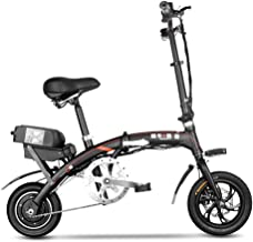 BYYLH Bicicleta Electrica Montaña Plegable Paseo Fat E-Bike Unisex Triciclo Portátil