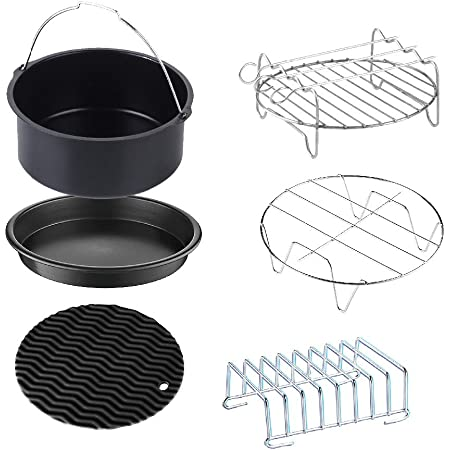 Magnetic Sheet for Air Pot Kitchen must have Airfryer Accessory with 101 Recipes Air Fryer Accessories