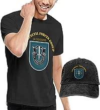 KFR&KNED 19th SFG Flash Nineteen Mens Fashion Short Sleeve Tee and Washed Baseball Cap