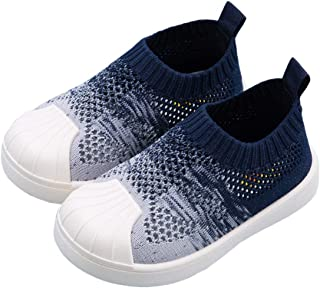 DEBAIJIA Chaussures pour Tout-Petits 1-7T Bébé Enfants Marche Changement Progressif Couleur Semelle Souple Antidérapant Me...