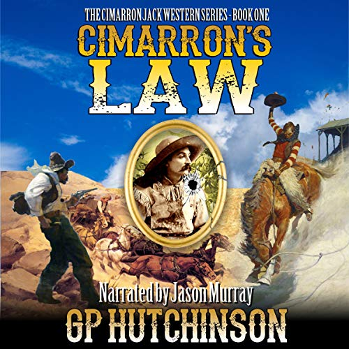 Cimarron's Law audiobook cover art