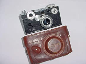 Vintage Argus 35mm Rangefinder Brick Camera with Argus 50mm Lens and Case