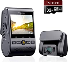 VIOFO A129 Duo Dash Cam Dual Camera Front and Rear Full HD 1080P Wi-Fi, Sony STARVIS Sensor Super Night Vision, 24H Parking Monitor, G-Sensor, Loop Recording, Mobile APP, GPS and 32GB SD Card Included