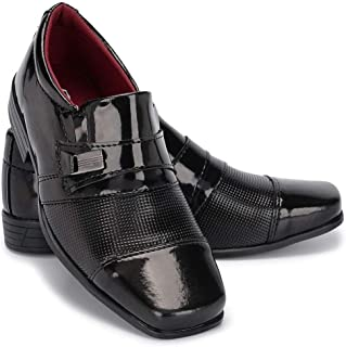 Sapato Social Masculino Infantil Em Verniz Schiareli 444 Preto