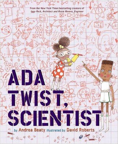 By Andrea Beaty, Beaty Andrea Ada Twist, Scientist 【hardcover 2016】 Preschool - 3