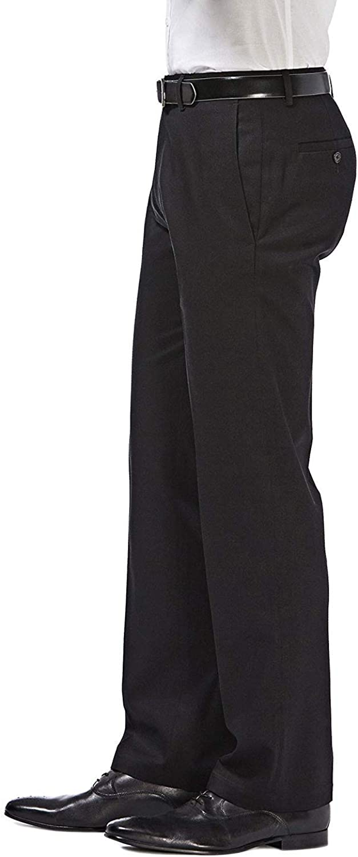 Haggar H26 Men S Performance Straight Fit Pants Black At Amazon Men S Clothing Store