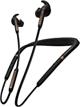Jabra Elite 65e ANC (Active Noise Cancellation) Wireless Neckband Headphones with Alexa Built-in, Copper Black