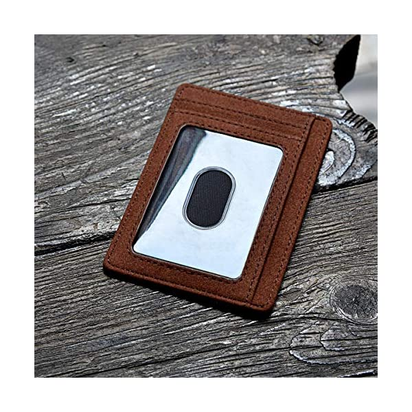 Slim Minimalist Leather Wallets for Men & Women – At Sahara Coffee