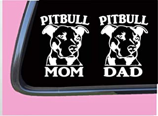 Pitbull Mom / Pitbull Dad TP 329 Sticker 6