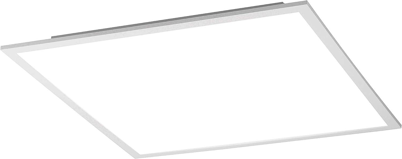 LED Q-Flag Panel, 45x45, 32 Watt, dimmbar + Fernbedienung, Deckenleuchte, Smart Home, Decken- Lampe, CCT-Steuerung, 2700 – 5000 Kelvin, flach + platzsparend