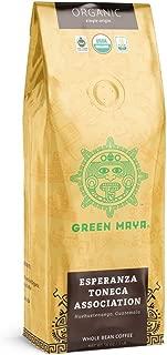 GREEN MAYA Esperanza Toneca Association Arabica Coffee Beans 100% Certified Organic Guatemala Espresso Single Origin Coffee