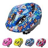 Casco Bicicleta Bebe Helmet Bici Ciclismo para Niño - Cascos para Infantil - Bici Casco para Patinete Ciclismo Montaña BMX Carretera Skate Patines monopatines (S(48-52 cm), Pink Safe City)