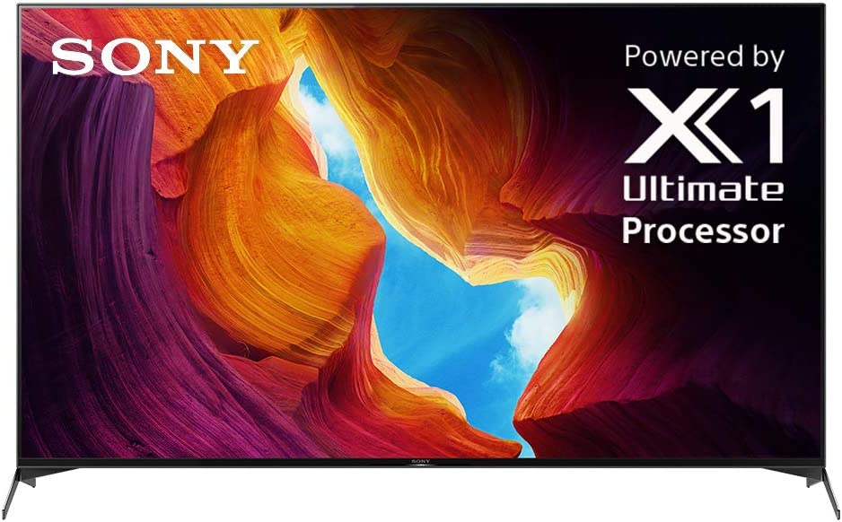 Sony X950H 55-inch TV: 4K Ultra HD Smart LED TV with HDR and Alexa Compatibility - 2020 Model
