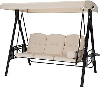 Amazon Com Porch Swings Metal Porch Swings Patio Seating Patio Lawn Garden