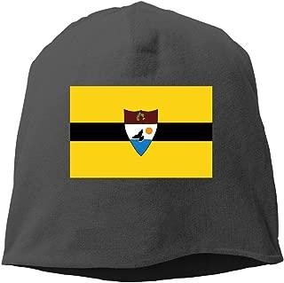 Demin09 Mens Womens Flag of Liberland Hats Beanie Cuff Skating Toboggan Wool Warm Skull Caps