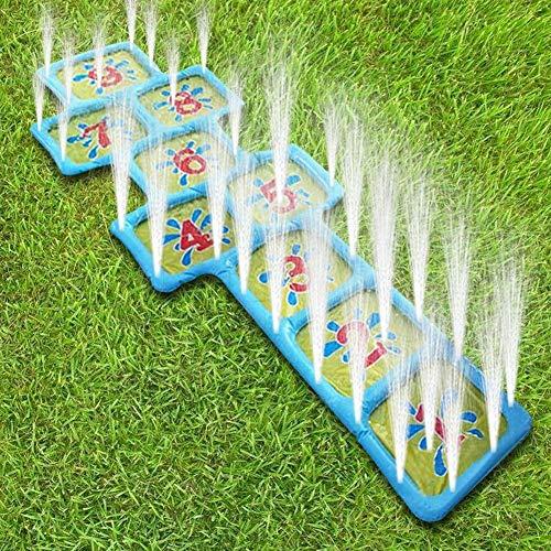 Patio Número Niños Piscina De Verano Aire Libre Rayuela Tablero De Juego Mat Inflable De Juguete Se Divierte Jugar De Agua Accesorios De Riego