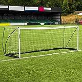 FORZA ProFlex Pop Up Football Goals | Ultra-Portable Garden Goals [6x4, 8x5, 10x6.5, 12x6, 16x7] (12 x 4)