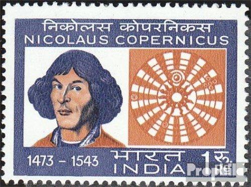 Prophila Collection Indien 571 (kompl.Ausg.) 1973 Kopernikus (Briefmarken für Sammler) Weltraum