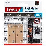 tesa 77908-00001-00 Tornillo Adhesivo Rectangular para Ladrillo Y Piedra 10 Kg, Set de 2 Piezas