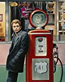 Posterazzi Collection James Dean Poster Print by Chris Consani (8 x 10)