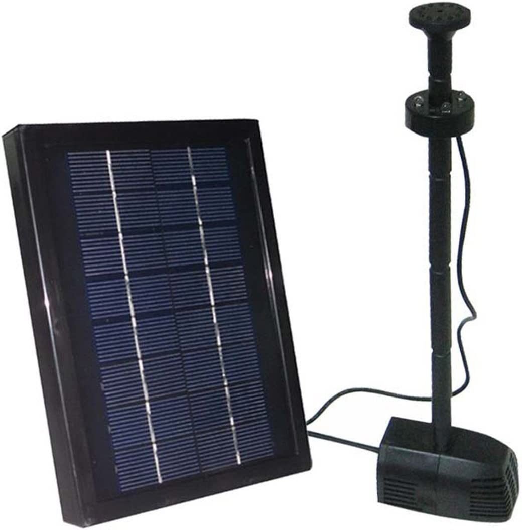 ASC 2.5w Watt Garden Solar Limited time Free Shipping New for free shipping with Pump Kit Battery Water