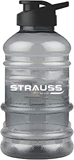 Strauss Gallon Shaker Water Bottle 1.5L with Mixer Ball