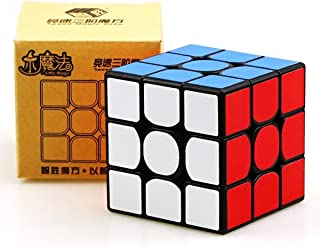 GoodPlay Yuxin Little Magic 3x3 Speed Cube Yuxin 3x3x3 Magic Cube Brain Training Toy Black Puzzle Cube