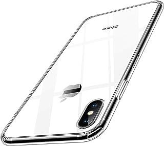 【Humixx】 2021新型 For iPhone Xs ケース For iPhone X ケース 薄型 耐衝撃 米軍MIL規格 レンズ保護 滑り止め 軽い フィット感 ワイヤレス充電対応 アイフォン10 スマホケース クリア
