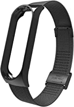 U Known for mi Band 3 4 Wrist Strap Metal Screwless Stainless Steel for Xiaofor mi for mi Band 4 3 Strap Bracelet for miband 4 3 Wristbands Pulseira