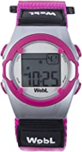 WobL - Pink Vibrating Reminder Watch 8 Alarms