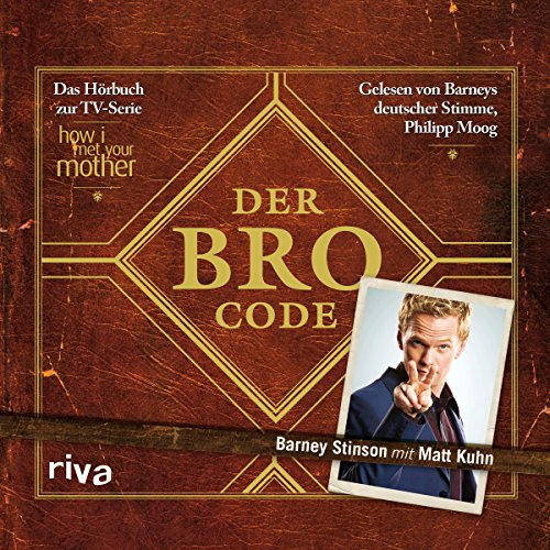 Der Bro Code  audiobook cover art