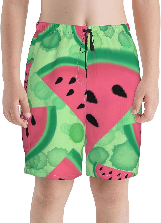Neddelo Watermelon Boys Swim Trunks Rapid rise Beach Teens Swi Boardshorts service