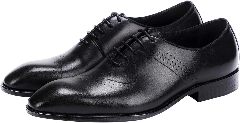 Santimon Men's Oxford Shoes Modern 営業 Wingtip Up Lace Formal 今だけスーパーセール限定