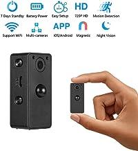 GXSLKWL Wireless Mini Camera Ideal WiFi Camera Motion Detection Night Vision Hidden Spy Camera Wake Up by APP (Color : +12...