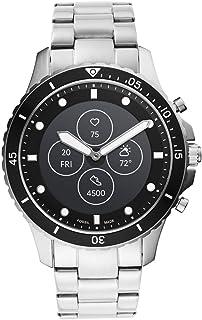 [フォッシル] 腕時計 ハイブリッドスマートウォッチHR FTW7016 メンズ 正規輸入品 シルバー