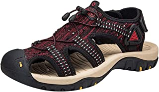 VonVonCo Shoes Elastic Durable Yoga Surf Sports Brogues Men's Large Size Mesh Breathable Beach Non-Slip Anti-Collision Sandals