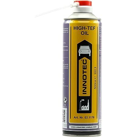 Innotec High Tef Oil Teflonöl Schmieröl Auf Ptfe Basis 500ml Sprühdose Auto