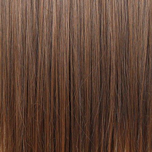 BiYa Hair Elements Extensions de cheveux Couleur 2T30 Dip dye châtain foncé