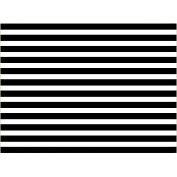 Zhy Birthday Backdrop for Photography Black and White Stripes Background 7x5ft Birthday Party Wedding Decoration Vinyl Backdrops