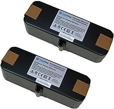 2x Trade-Shop Premium akumulator litowo-jonowy 14,4V 6000mAh do iRobot Roomba 500 505 510 520 521 530 531 532 534 535 540 ...